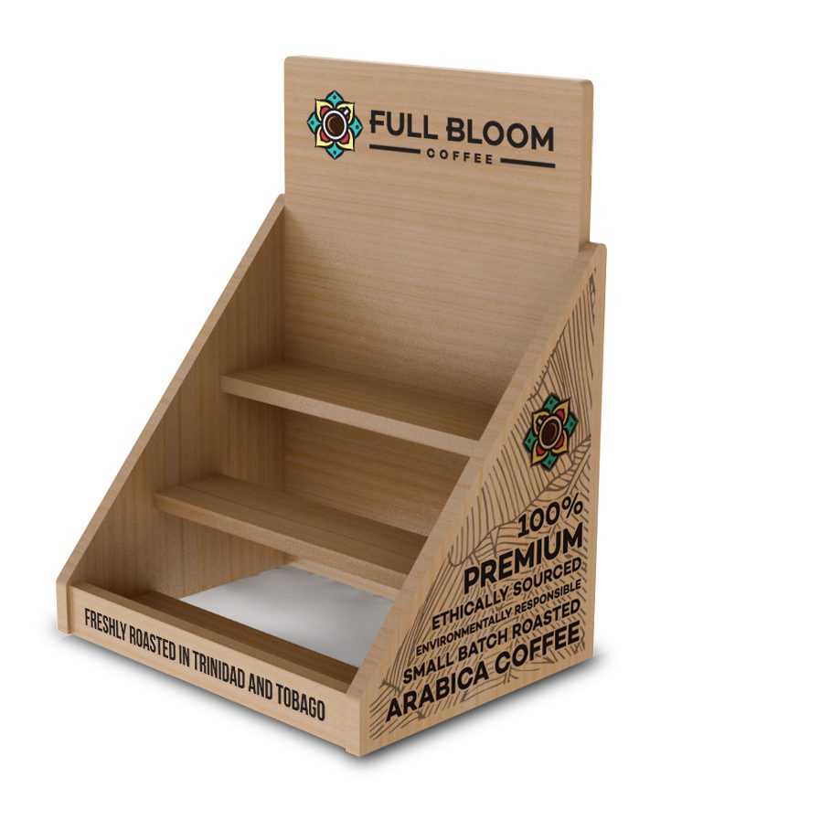 Full Bloom Counter Top Display - PVC - Design and Executed by LH (1)