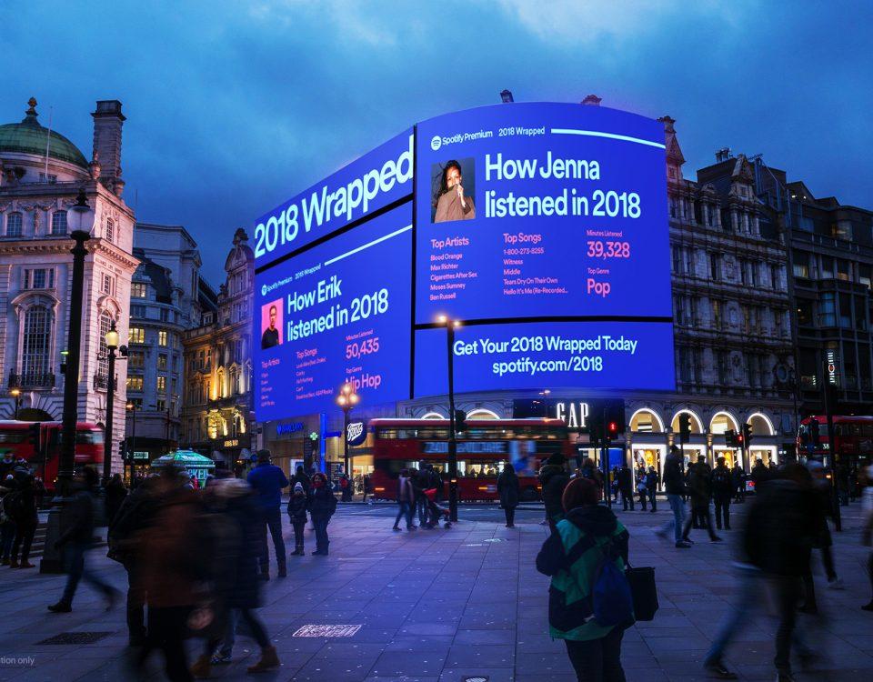 Image of Spotify Digital Billboard in Times Square